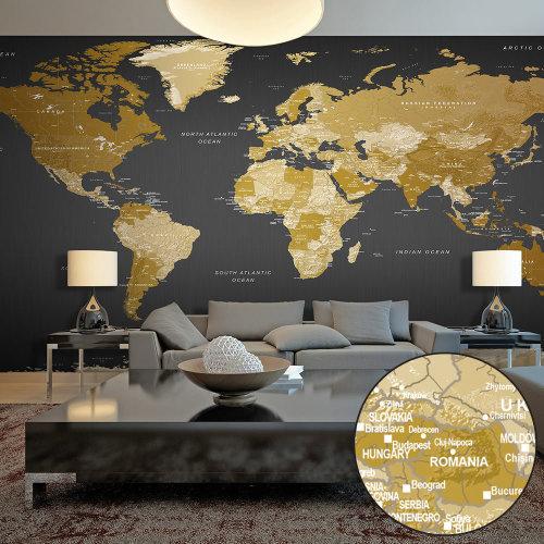 XXL wallpaper - World Map: Modern Geography II