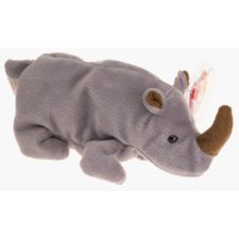 Ty Beanie Babies - Spike the Rhinoceros (Retired)