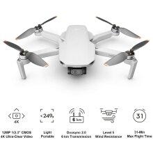 Drone Mini 2 Quadcopter 4K Video Ultralight Foldable 3-Axis Gimbal 12MP Photo