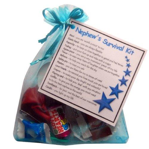 Nephew's Survival Kit Gift - Great novelty gift!