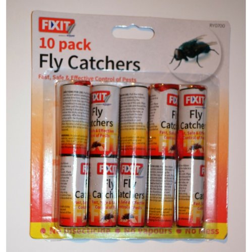 Pack of 10 Fly Trap Catcher Catch Home Garden Outdoor