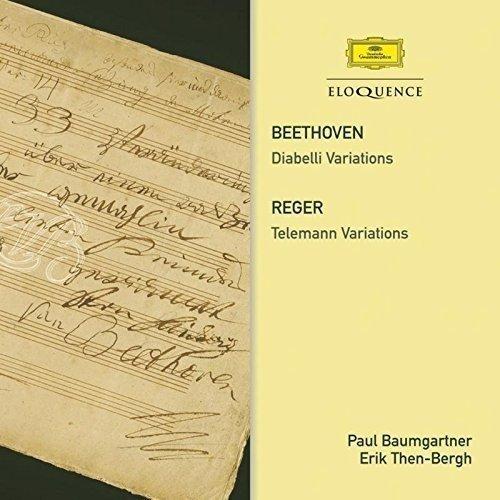 Beethoven/reger:variations - Baumgartner; Then-bergh [CD]