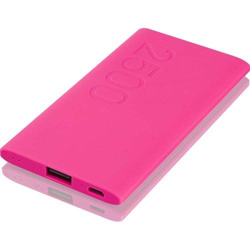GOJI G25PBPK16 Portable Power Bank - Pink, Pink