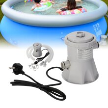 Electric Swimming Pool Filter Pump Powerful Water Cleaning System