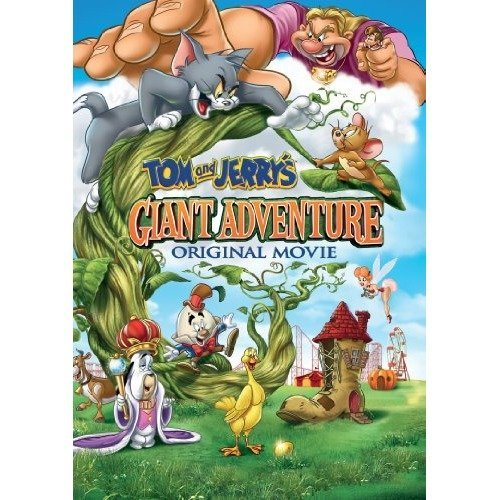 Tom And Jerry - Jerrys Giant Adventure DVD [2013]