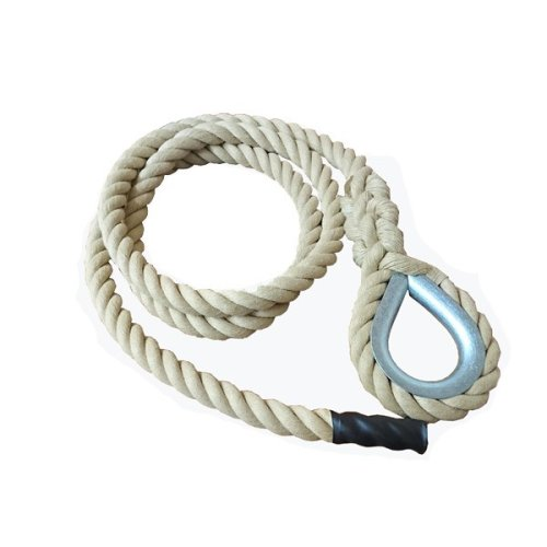 24mm Synthetic Gym Rope with Hard Eye