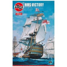 AIRFIX A09252V HMS Victory 1765 - Vintage Classics 1:180 Ships Model Kit
