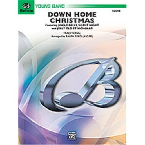Alfred 00-24744 DOWN HOME CHRISTMAS-BYB2