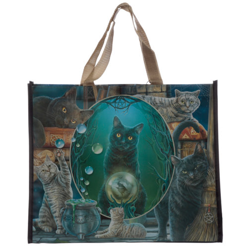 Magic Cat Montage Lisa Parker Reusable Shopping Bag