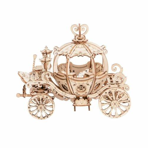 New 3D Pumpkin Cart Classical Wooden Puzzle - UK Stock