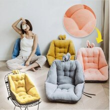 Comfort Semi-Enclosed Cushion For Office Chair Pain Relief Sciatica Bleacher With Backs