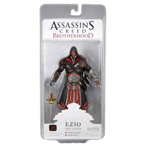 Assassins Creed 7-inch Brotherhood Ezio Hooded Action Figure (ebony)
