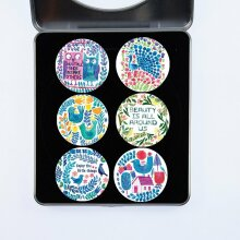 Pattern Weights Dressmaking Fabric Weights PATTERNWEIGHTS Cloth Weights - A Selection of Pattern Weights Designed by Tracey English - Colourful Collag
