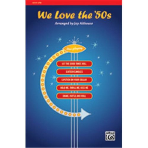 Alfred 00-35548 WE LOVE THE 50S-STRX CD