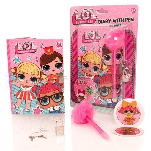 LOL Diary & Pom Pom Pen Set
