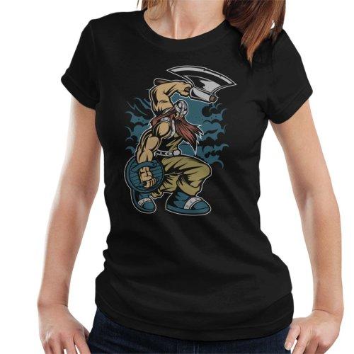 Viking Warrior With Axe Women's T-Shirt
