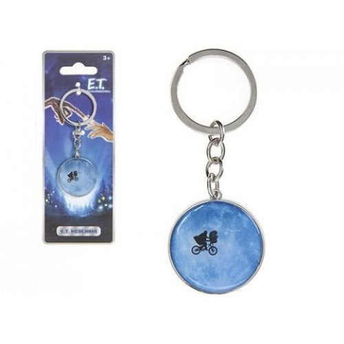 Pms E. T Metal Keychain On Backing Card 35mm - Key Ring E Lextraterrestrial 35 -  key ring et lextraterrestrial metal 35 cm keyring keychain 214621