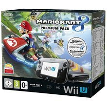 Nintendo Wii U 32GB Premium Pack with Mario Kart 8 (New) - Used