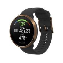 Polar Ignite Fitness Watch Heart Rate GPS Activity Tracker Black/Copper