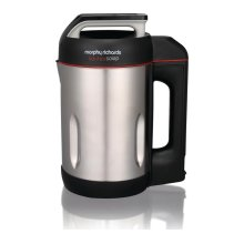 MORPHY RICHARDS 501014 Sauté and Soup Maker - Stainless Steel, Stainless Steel