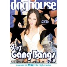 4 On 1 Gang Bangs Vol. 9
