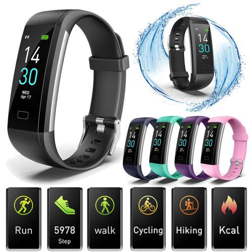 S5 Smart Bracelet Blood Pressure Heart Rate Monitor IP68 Sports Fitness Tracker