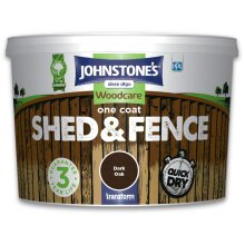 Johnstones One Coat Shed And Fence
