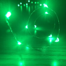 Box of 6 Waterproof ,Fairy, 20 LED Lights, Choose Mode: ON,SLOW/FAST FLASH, OFF