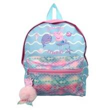 Peppa Pig Mermaid Wonderful Friends Mini Roxy Backpack