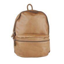 30x39x14 cm -Leather  Backpack - Made in Italy