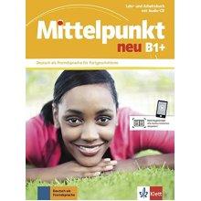 Mittelpunkt Neu: Lehr- und Arbeitsbuch B1+ mit CD zum Arbeitsbuch - Used
