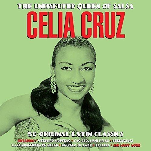 The Undisputed Queen of Salsa Double Cd Double Cd Audio Cd Celia Cruz