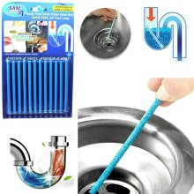Sani Stick Drain Opener Strip Clean Sink Deodorizer Keep Drain Pipes Clear 12pcs