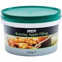 Country Range Bramley Apple Filling - 1x2.5kg