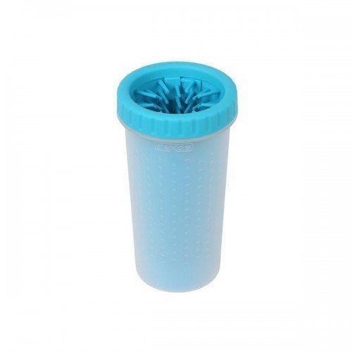 (Large, Blue) Dexas MudBuster Paw Cleaner
