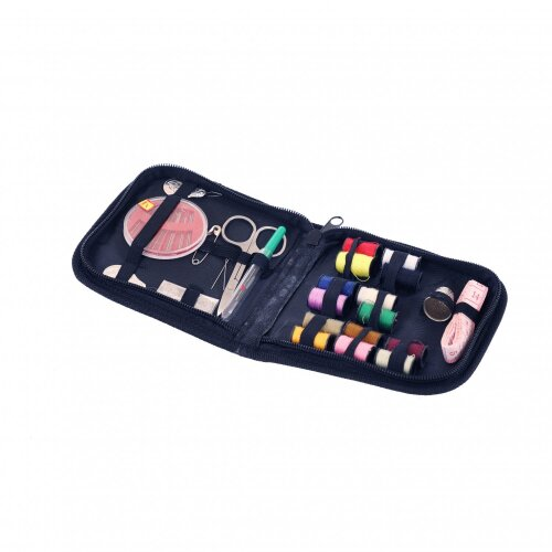 Oypla Travel Sewing Kit with Needle Thread Buttons Measuring Tape Scissors