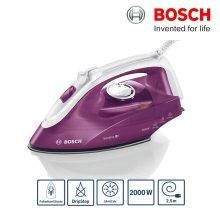 Bosch TDA2625GB Sensixx B1 Steam Iron 2000W 85g/min Drip Stop Deep Berry - Refurbished