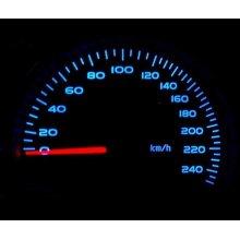 Full Blue LED Dash Speedo Kit Set Replacement For Vauxhall Corsa B Tigra A
