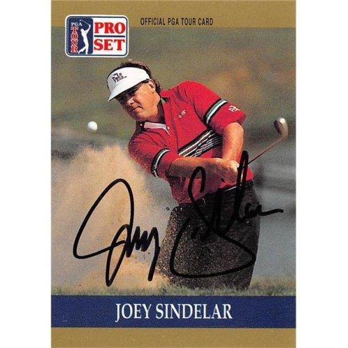 Autograph Warehouse 527966 Joey Sindelar Autographed Trading Card - Golf, PGA Tour & Ohio State Buckeyes, SC 1990 Pro Set No.41