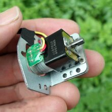 Micro Mini Precision Full Metal Gear Stepper Motor