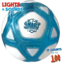 Smart Ball Counting Football with Closed Box with LED Flashing Lights For Ages 6 and Above