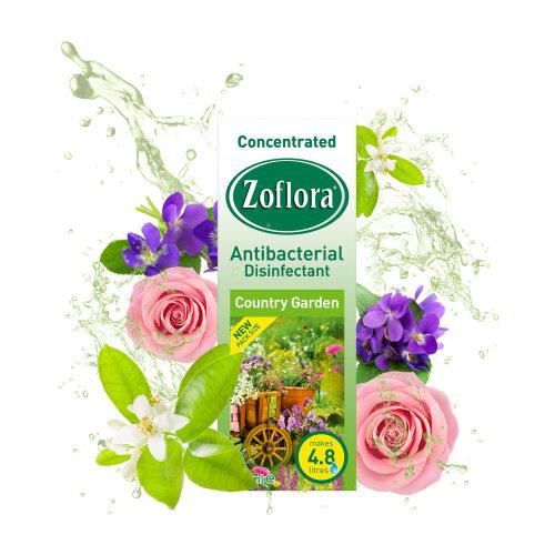 Zoflora Antibacterial Disinfectant 120ml Country Garden