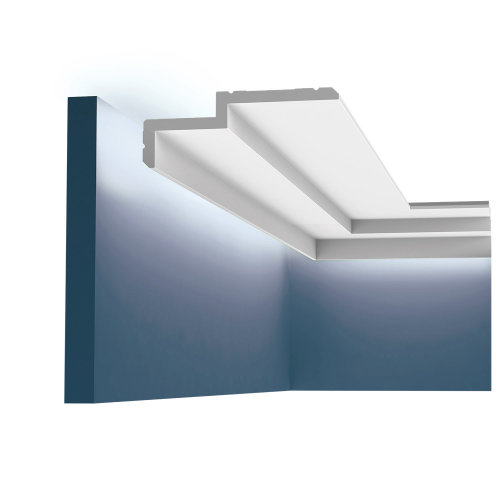 Orac Decor C391 MODERN STEPS Cornice moulding for indirect lighting 2 m
