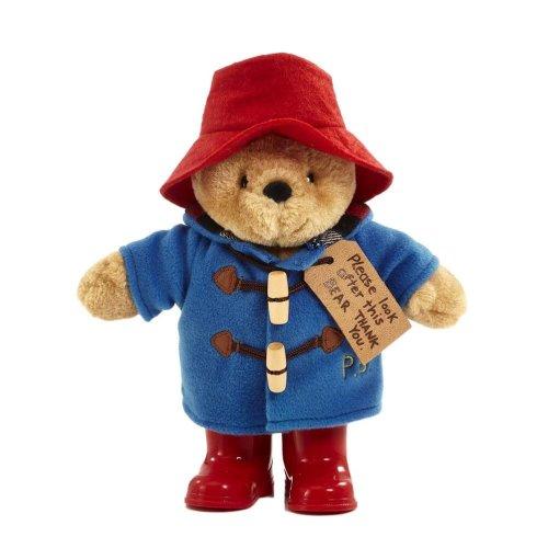 Classic Paddington Bear Plush Toy with Boots