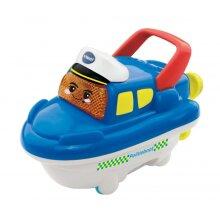 bath figure Pippin police boat blue / white 15 cm