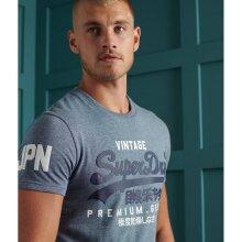 Superdry Vintage Logo T-Shirt - Tois Blue Grit