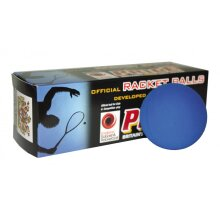 Ransome Club Racquetball Balls - Blue - Non Marking Rubber - Pack of 12