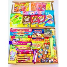 Super Sweets Large Jam Packed Letterbox Selection Sweet Box