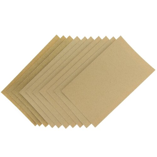 Coral 74200 Essentials Abrasive Sandpaper Sheets with Fine Medium and Coarse Grits