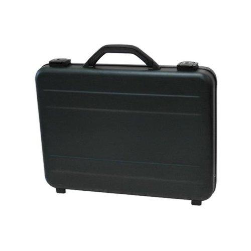TZ Case AC-66 B Slimline Molded Aluminum Attache Case, Black